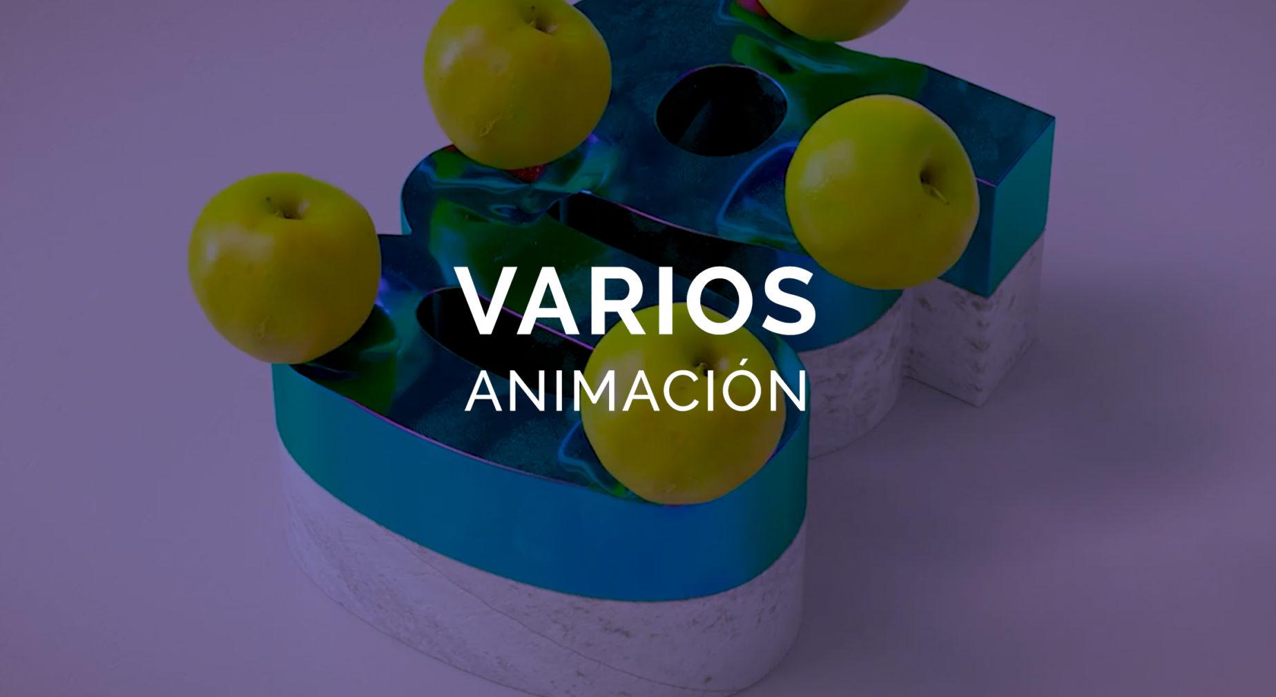 Reel Animación VARIOS