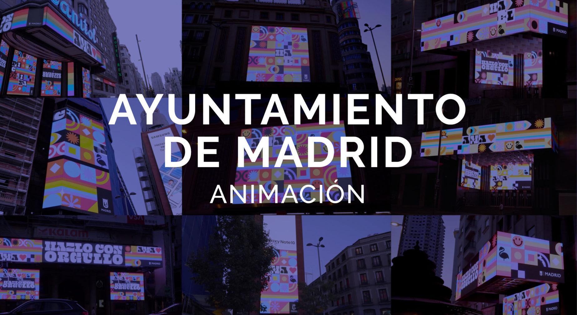 Ayuntamiento de Madrid Orgullo 2020